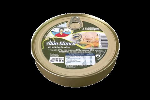 atún blanco en aceite de oliva fresco