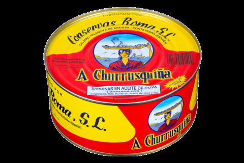 sardinilla en aceite de oliva lata grande ro-1080