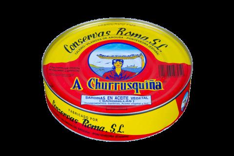 sardinilla en aceite de girasol lata amarilla plana ro-550
